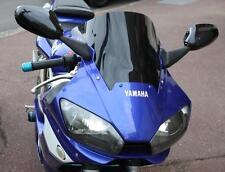 Cimoto Cupolino per Parabrezza per Moto Un Doppia Bolla per YZF-R6 1998 1999 2000 2001 2002