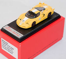 1/43 MR BOSICA FERRARI FXX YELLOW #22 OPEN/CLOSE SIGNED