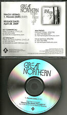 30 seconds to mars GREAT NORTHERN Houses RARE EDIT DJ PROMO CD Single thirty
