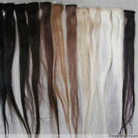 "20"" Brazilian Virgin Hair Human Hair Clip In Extensions 5g 1Pcs Mixed Colors"