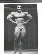 GARY STRYDOM  USA / NPC Champion  Bodybuilding Muscle Photo  B&W