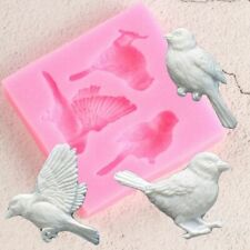Birds Silicone Mold Fondant Mold Cake Decorating Tool Candy Clay Shape