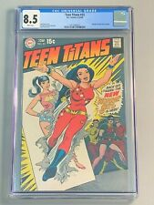 Teen Titans 23 - CGC 8.5 - Wonder Girl New Costume