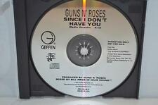 GUNS N' ROSES Since I Don't Have You US Radio Promo Only CD Single RARE 1993