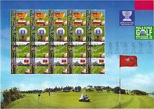 Malaysia 815-818 Kleinbogen sauber postfrisch MNH Golf WM 1999 Kuala Lumpur