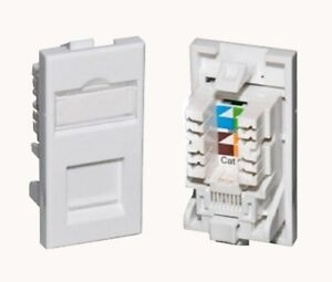 CAT6 UTP RJ45 25x50mm Euro High Quality IDC Network Module