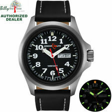 ArmourLite Tritium Watch - Officer Series AL801 - Black Dial & Leather Band