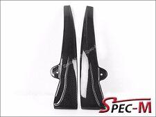 2005-2013 Chevy Corvette C6 Z06 ZR1 CF Carbon Fiber Side Skirts Mud Flaps Lip