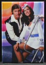 "Buck Rogers Cast Photo 2"" X 3"" Fridge / Locker Magnet."