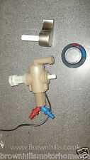 HYMER MOTORHOM SHOWER MIXER TAP WITH MICROSWITCH BEIGE LATE 1980'S TO MID 1990'S