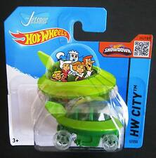 Hot Wheels 2015 The Jetsons The Capsule 57/250 car 1960's TV classic Space age