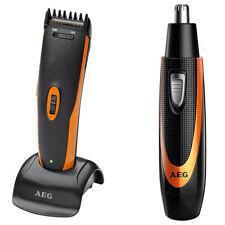 AEG HSM/R 5597 - Cortapelos y cortadora de vello para nariz y orejas