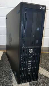 HP Z220 Workstation Xeon 3.7GHz 12GB DDR3 240GB SSD 2TB HDD Geforce GT1030 2GB