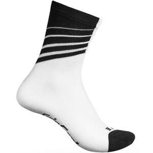 GripGrab Racing Stripes Cycling Socks Seamless Toe Ventilated Bike Footwear