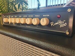 Fender Rumble 500 v3 Bass Head Amplifier