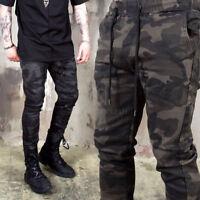 NewStylish Mens Casual Fashion Bottom Camouflage Slim Fit Banding Pants