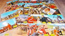 ZOULOU zulu ! michael caine rare jeu 20 photos cinema lobby cards 1964 afrique