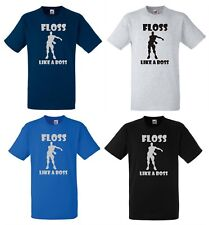 FLOSS T Shirt Top KIDS PS4 XBOX FORT Game Nite Royale Battle ALL COLORS ALL SIZE