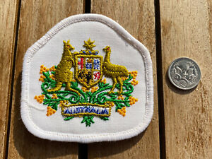 Australian Army Warrant Officer (With Australian Crest) Formal Patch