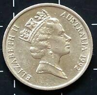 1992 AUSTRALIAN 5 CENT COIN