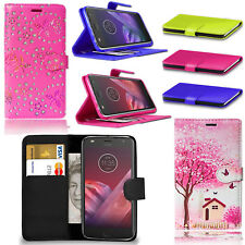 For Moto G5S / G5S Plus Magnetic Card Wallet Flip PU Leather Case Stand Cover