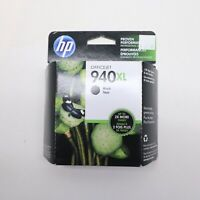 New Genuine HP 940 XL Exp 05/2020 black ink Officejet 8500 8000 8500A Sealed