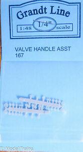 Grandt Line O #167 Valve Handle Asst. (Plastic Parts) We Combine Ship