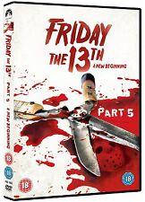 Friday The 13th: Part 5 [DVD] Melanie Kinnaman, Shavar Ross, John Shepherd New
