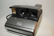Polaroid One, lomography,uses 600 Impossible film, fantastic plastic, silver pod