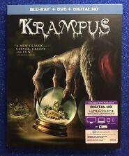 Krampus (Blu-ray+DVD+Digital HD, 2016; 2-Disc Set) NEW w/Slipcover