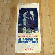 AMANTI DEL CHIARO DI LUNA locandina poster Les Bijoutiers Du Claire De Lune B44A