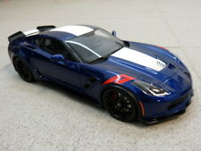 CHEVROLET CORVETTE C7 2017 GRAND SPORT BLEU BLANC ROUGE GT SPIRIT