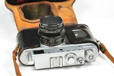 Rangefinder ZORKI 4 camera Jupiter 8, based on Leica, after CLA