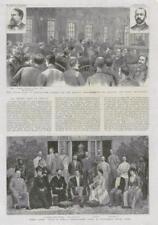 1889 Antique Print - INDIA PUNE ROYAL VISIT PHOTO AMERICA CHICAGO CRONIN (277)