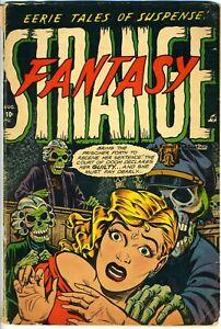 Strange Fantasy  # 7 GOOD 2.5