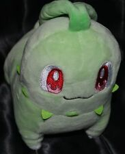 "6"" Chikorita Official Pokemon Center Poke Plush Dolls Toys Stuffed Animals Grass"