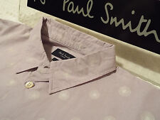 "PAUL SMITH Mens Shirt 🌍 Size M (CHEST 40"") 🌎 RRP £95+📮 FLORAL DANDELION PRINT"