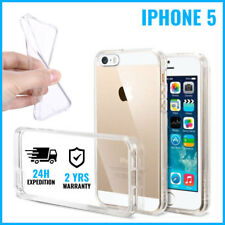 Transparent 0.3mm Cas Gel Clear Case Cover Etui Coque Silicone For iPhone 5