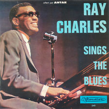RAY CHARLES Sings The blues FR Press Visadisc 245 EP
