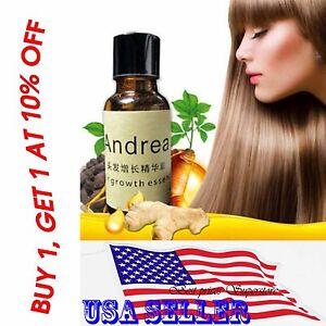 Andrea Hair Growth Essence Hair Loss Treatment ginger Sunburst raise dense 20 ml