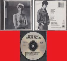 PETER WOLF Come As You Are 1987 Made in JAPAN CD J. Geils Band Rare 80s Rock