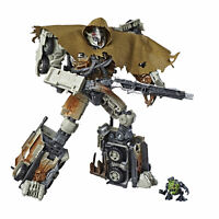 Transformers Studio Series 34 Leader Class Dark of the Moon Megatron & Igor Fig.