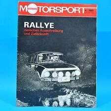 DDR Illustrierter Motorsport IMS 4/1982 Trialsport Güstrow Wernigerode Subaru