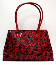 GENUINE 100% LEATHER *SHANTINIKETAN HANDMADE PURSE INDIAN HAND BAG TOTE