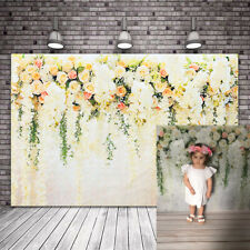 Photography Background Flower Painted Wedding Birthday Party Backdrop Decor Us