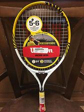 "New Wilson Rodger Federer 21in Tennis Racquet. Junior tennis 21inch 21"" racquet"