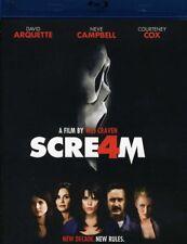 Scream 4 [New Blu-ray]