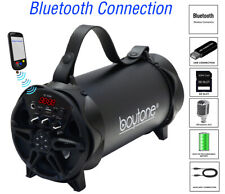 Boytone BT-42BK Portable Bluetooth Speaker Indoor/Outdoor, FM Radio, USB Port