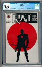 """Rai #0 (1992) CGC 9.6  White Pages  Layton - Shooter - Lapham  """"Bloodshot"""""""