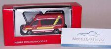 """Herpa 090889: Mercedes-Benz Sprinter MTW """"Feuerwehr Holzkirchen"""""""